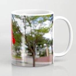 Red Flower Bloom Coffee Mug