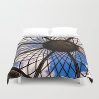 dream catcher Duvet Covers featuring Dream catcher by Chloe Cristina