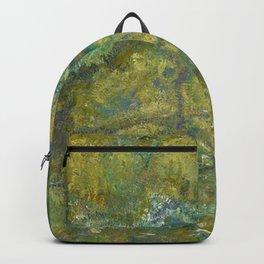 Claude Monet - La passerelle sur le bassin aux nymphéas.jpg Backpack