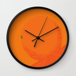 What rhymes with Orange  Wall Clock