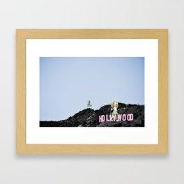 A Lot Left To Desire Framed Art Print