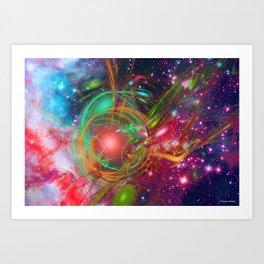 New Universe Art Print