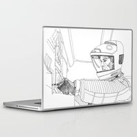 2001 Laptop & iPad Skins featuring 2001 A Space Odyssey by Ah Shun