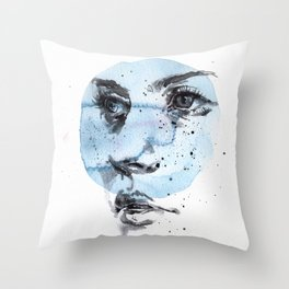 small piece 27 Throw Pillow
