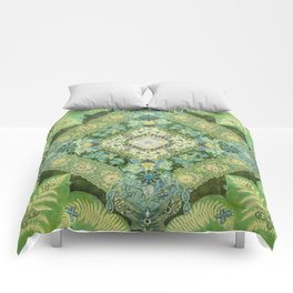 Renewal Springs from Woman Comforters