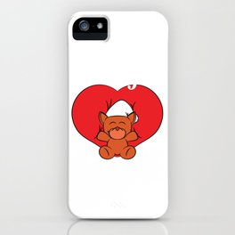 """A Valentine's Tee For Lovers Saying """"I Love You"""" T-shirt Design Stuff Toy Heart Relationship Partner iPhone Case"""