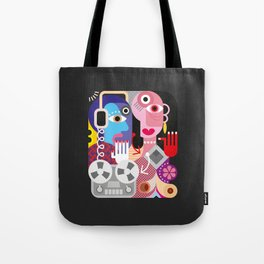 Cubism Deejay - Music Tote Bag