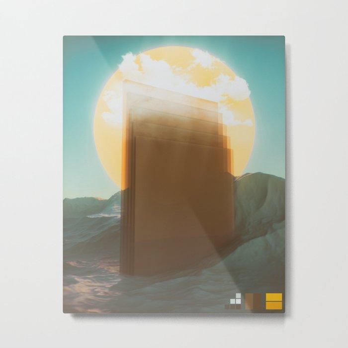 Higher Metal Print
