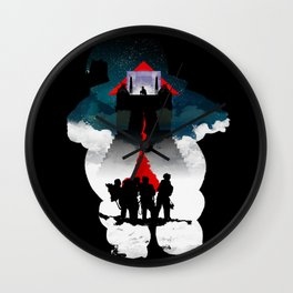Ghostbusters Wall Clock