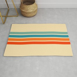 Ienao - Classic 70s Retro Stripes Rug