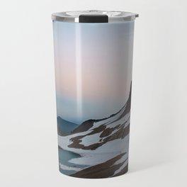 Alpine Lake Moonrise Travel Mug