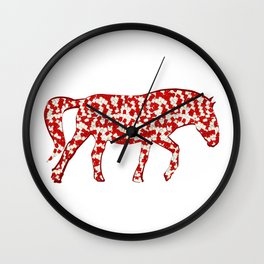 year of the horse: part 3 Wall Clock