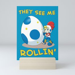 Billy Hatcher - They See Me Rollin' Mini Art Print