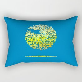 Sun in Different Languages Rectangular Pillow