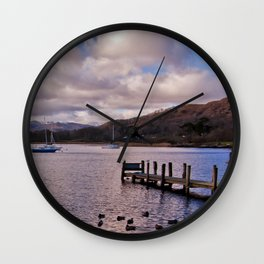 Windermere Lake District Wall Clock
