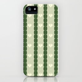 Green Locket iPhone Case