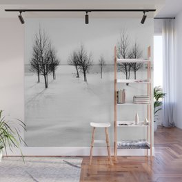 Wintertime in the Netherlands Wall Mural