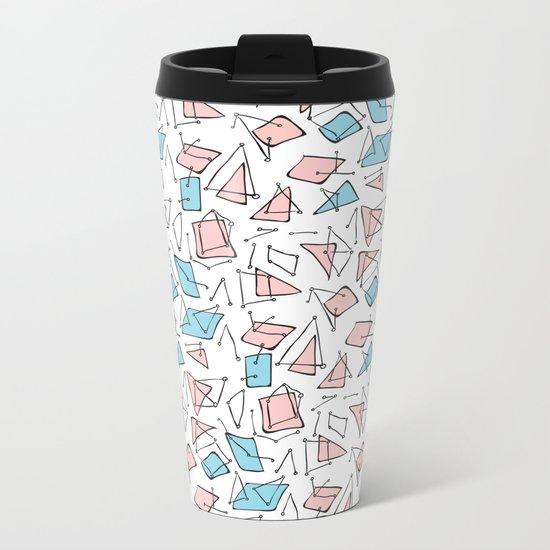 Pastel expression Metal Travel Mug