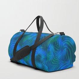 Zebra goes underwater Duffle Bag