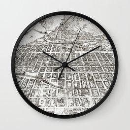Colorado Springs - Colorado - 1909 Wall Clock