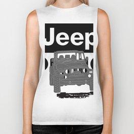 Jeep On the road Biker Tank