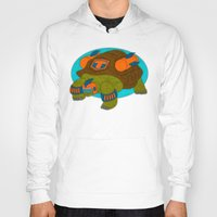 tortoise Hoodies featuring Tortoise by subpatch