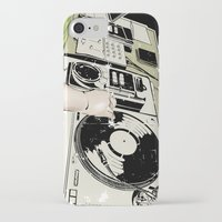 dj iPhone & iPod Cases featuring DJ! by Parrish