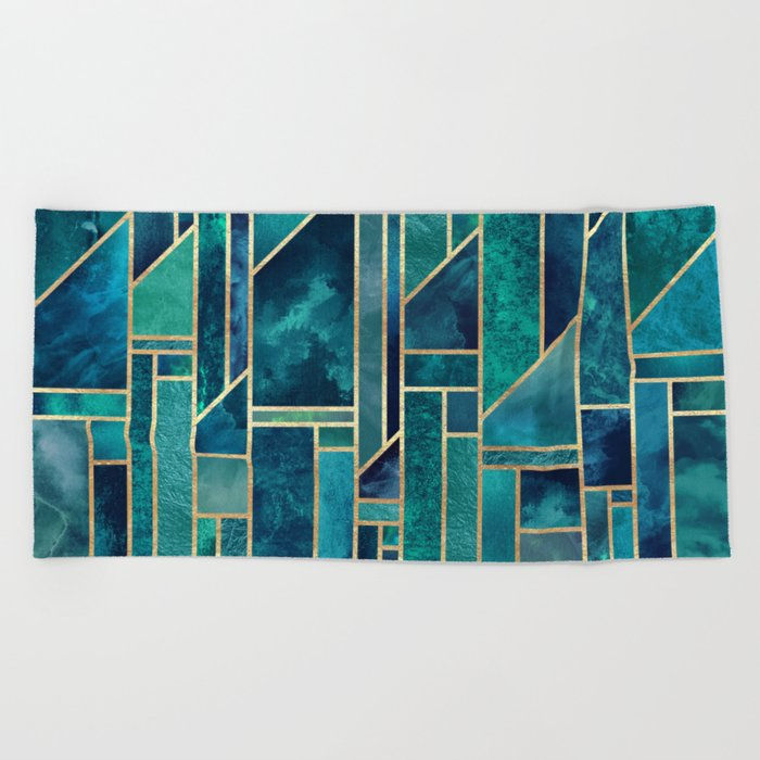 Blue Skies Beach Towel