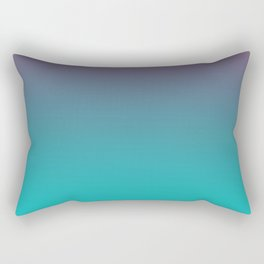 OCEANIC LOVE - Minimal Plain Soft Mood Color Blend Prints Rectangular Pillow