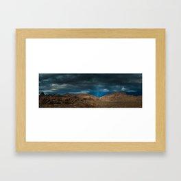 Lone Pine Landscape - California Framed Art Print