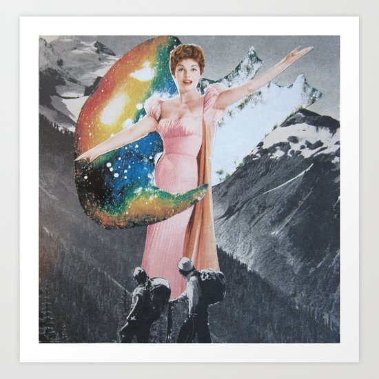 hikersgoddess Art Print