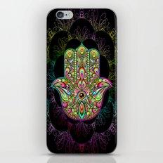 Hamsa Hand Amulet Psychedelic iPhone & iPod Skin