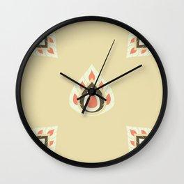 Lai Thai Kra Jang Flat Art Wall Clock