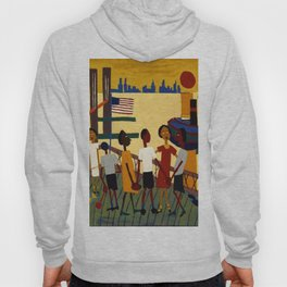 African American Masterpiece 'Ferry' NYC by William Johnson Hoody
