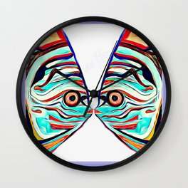 Fish Love Art Wall Clock