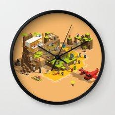 PIXEL ISLAND VOL.2 Wall Clock