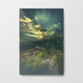 Road to oblivion Metal Print