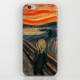 The Scream by Edvard Munch iPhone Skin