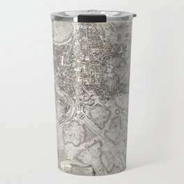 La pianta grande di Roma (The Large Plan of Rome), also known as The Nolli Map by Pietro Campana, Ca Travel Mug