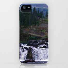 Red Rock Falls iPhone Case