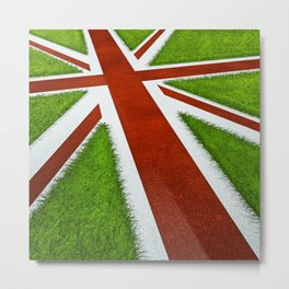 UK track and field Metal Print