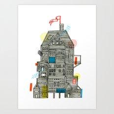 Holiday Camp Art Print