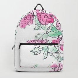 Sketch of Roses Backpack
