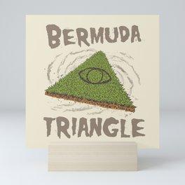 Bermuda Triangle Mini Art Print