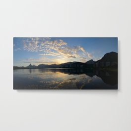 All-embracing Rio Metal Print