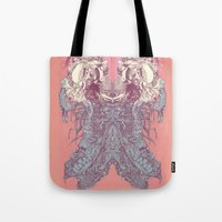 insect Tote Bags featuring insect by Maethawee Chiraphong
