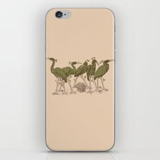 Bird Forest iPhone Skin