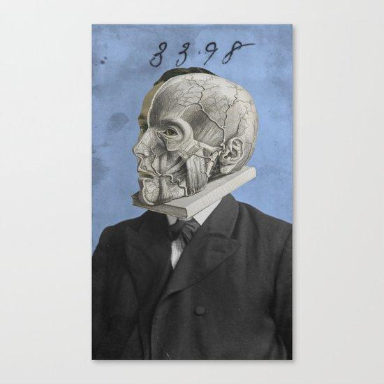 THREE THREE NINE EIGHT Canvas Print