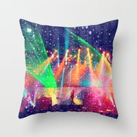 tool Throw Pillows featuring Tool  by Alicia