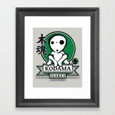 Kodama Sake Framed Art Print